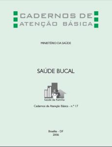 Capa de Livro: Cadernos de Atenção Básica, n. 17 - Saúde Bucal