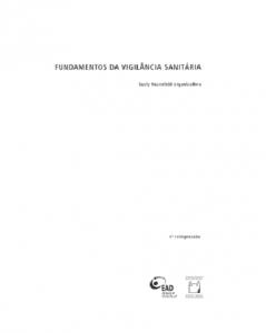 Capa de Livro: Fundamentos da vigilância sanitária