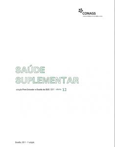 Capa de Livro: Saúde Suplementar