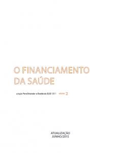 Capa de Livro: O Financiamento da Saúde