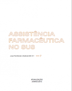 Capa de Livro: Assistência Farmacêutica no SUS