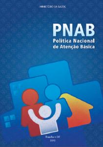 Capa de Livro: Política Nacional de Atenção Básica
