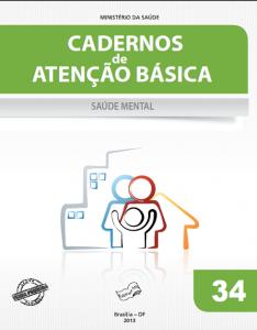 Capa de Livro: Cadernos de Atenção Básica, n. 34 - Saúde mental