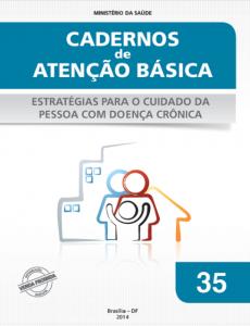 Capa de Livro: Cadernos de Atenção Básica, n. 35 - Estratégias para o cuidado da pessoa com doença crônica