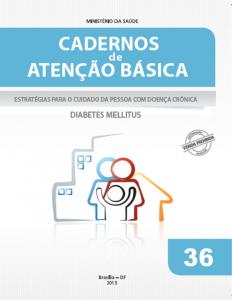 Capa de Livro: Cadernos de Atenção Básica, n. 36 - Estratégias para o cuidado da pessoa com doença crônica: diabetes mellitus