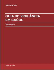 Capa de Livro: Guia de Vigilância em Saúde