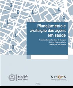 Capa de Livro: Planejamento e avaliação das ações em saúde