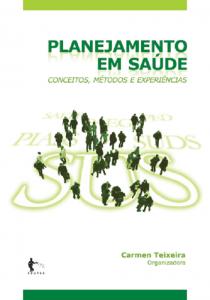Capa de Livro: Planejamento em saúde: conceitos, métodos e experiências