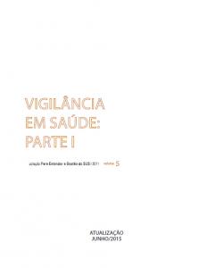 Capa de Livro: Vigilância em Saúde: Parte 1
