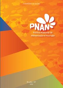 Capa de Livro: Política Nacional de Alimentação e Nutrição