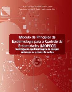 Capa de Livro: Módulos de princípios de epidemiologia para controle de enfermidades - MOPECE: Módulo 5